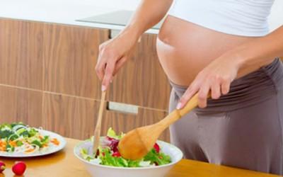 Alimentación de embarazadas
