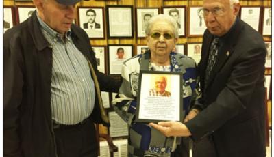 Homenaje Lionel Rodriguez